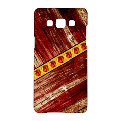 Wood And Jewels Samsung Galaxy A5 Hardshell Case  by linceazul