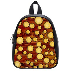Wood And Gold School Bags (small)