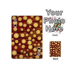 Wood And Gold Playing Cards 54 (mini)