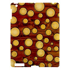 Wood And Gold Apple Ipad 3/4 Hardshell Case by linceazul