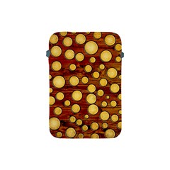 Wood And Gold Apple Ipad Mini Protective Soft Cases by linceazul
