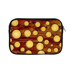 Wood And Gold Apple Ipad Mini Zipper Cases