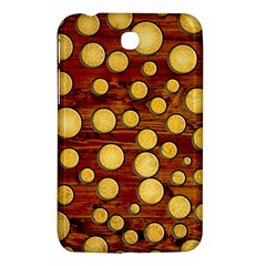 Wood And Gold Samsung Galaxy Tab 3 (7 ) P3200 Hardshell Case