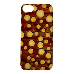 Wood And Gold Apple Iphone 5s/ Se Hardshell Case
