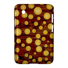 Wood And Gold Samsung Galaxy Tab 2 (7 ) P3100 Hardshell Case