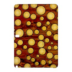 Wood And Gold Samsung Galaxy Tab Pro 10 1 Hardshell Case