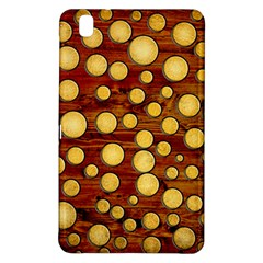 Wood And Gold Samsung Galaxy Tab Pro 8 4 Hardshell Case