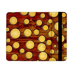 Wood And Gold Samsung Galaxy Tab Pro 8 4  Flip Case