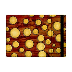 Wood And Gold Ipad Mini 2 Flip Cases by linceazul