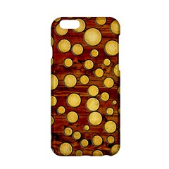 Wood And Gold Apple Iphone 6/6s Hardshell Case