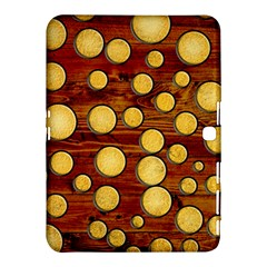 Wood And Gold Samsung Galaxy Tab 4 (10 1 ) Hardshell Case