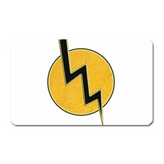 Lightning Bolt Magnet (rectangular)