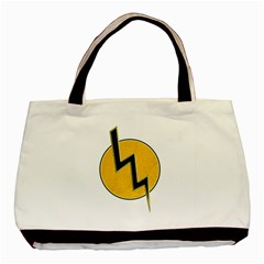 Lightning Bolt Basic Tote Bag (two Sides)