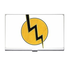 Lightning Bolt Business Card Holders
