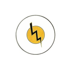Lightning Bolt Hat Clip Ball Marker