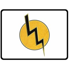 Lightning Bolt Fleece Blanket (large)