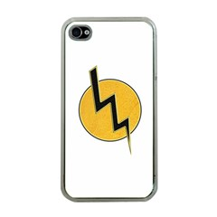 Lightning Bolt Apple Iphone 4 Case (clear)