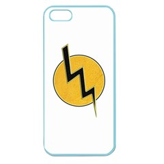 Lightning Bolt Apple Seamless Iphone 5 Case (color)