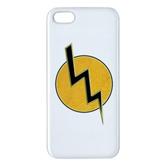Lightning Bolt Apple Iphone 5 Premium Hardshell Case