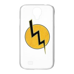 Lightning Bolt Samsung Galaxy S4 Classic Hardshell Case (pc+silicone) by linceazul
