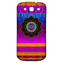 Air And Stars Global With Some Guitars Pop Art Samsung Galaxy S3 S Iii Classic Hardshell Back Case by pepitasart