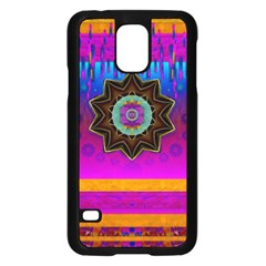 Air And Stars Global With Some Guitars Pop Art Samsung Galaxy S5 Case (black) by pepitasart