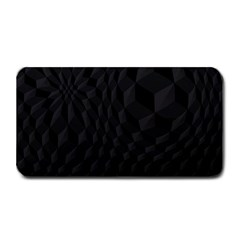 Black Pattern Dark Texture Background Medium Bar Mats by Nexatart