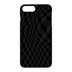 Black Pattern Dark Texture Background Apple Iphone 7 Plus Hardshell Case