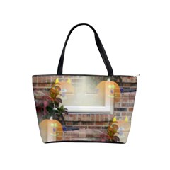 Ghostly Floating Pumpkins Shoulder Handbags by canvasngiftshop