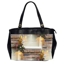 Ghostly Floating Pumpkins Office Handbags (2 Sides)