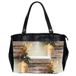 Ghostly Floating Pumpkins Office Handbags (2 Sides)  Front