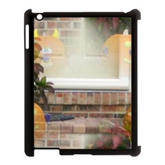 Ghostly Floating Pumpkins Apple Ipad 3/4 Case (black) by canvasngiftshop