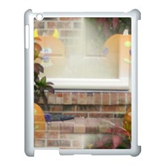 Ghostly Floating Pumpkins Apple Ipad 3/4 Case (white) by canvasngiftshop