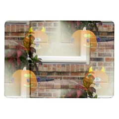Ghostly Floating Pumpkins Samsung Galaxy Tab 10 1  P7500 Flip Case by canvasngiftshop