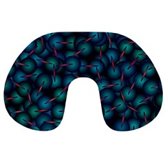 Background Abstract Textile Design Travel Neck Pillows by Nexatart