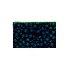 Background Abstract Textile Design Cosmetic Bag (xs) by Nexatart