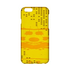 Texture Yellow Abstract Background Apple Iphone 6/6s Hardshell Case by Nexatart