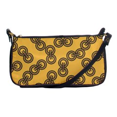 Abstract Shapes Links Design Shoulder Clutch Bags