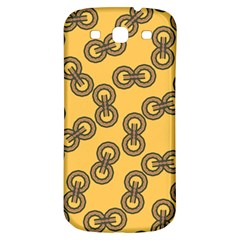 Abstract Shapes Links Design Samsung Galaxy S3 S Iii Classic Hardshell Back Case by Nexatart