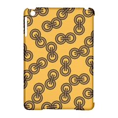 Abstract Shapes Links Design Apple Ipad Mini Hardshell Case (compatible With Smart Cover) by Nexatart