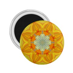 Sunshine Sunny Sun Abstract Yellow 2 25  Magnets by Nexatart