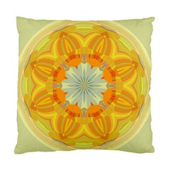 Sunshine Sunny Sun Abstract Yellow Standard Cushion Case (two Sides)