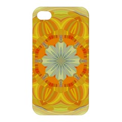 Sunshine Sunny Sun Abstract Yellow Apple Iphone 4/4s Hardshell Case by Nexatart