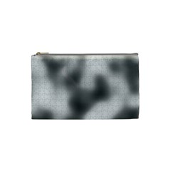 Puzzle Grey Puzzle Piece Drawing Cosmetic Bag (small)  by Nexatart