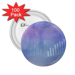 Business Background Blue Corporate 2 25  Buttons (100 Pack)  by Nexatart
