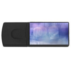 Business Background Blue Corporate Usb Flash Drive Rectangular (4 Gb) by Nexatart