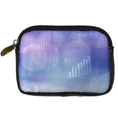 Business Background Blue Corporate Digital Camera Cases by Nexatart