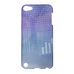 Business Background Blue Corporate Apple Ipod Touch 5 Hardshell Case by Nexatart