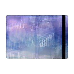 Business Background Blue Corporate Apple Ipad Mini Flip Case by Nexatart
