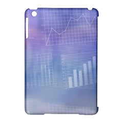 Business Background Blue Corporate Apple Ipad Mini Hardshell Case (compatible With Smart Cover) by Nexatart